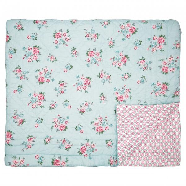 "GreenGate Quilt ""Sonia"" - 180x230cm (Pale Blue)"
