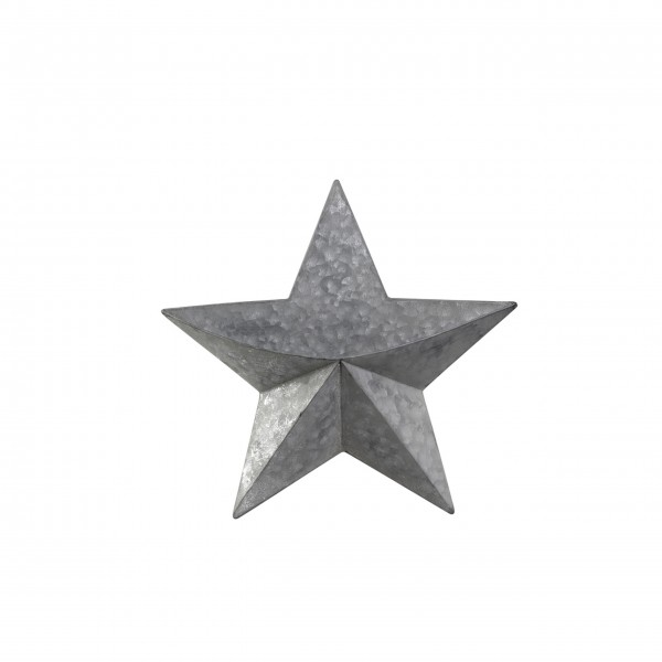 """Stern für Wand """"X19"""" (Silber) von Chic Antique"""