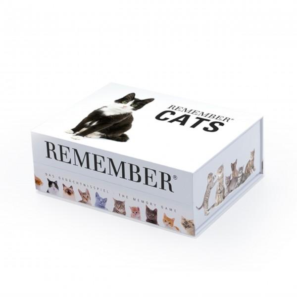 """Gedächtnisspiel 44 """"Cats"""" in der Magnetbox von Remember"""