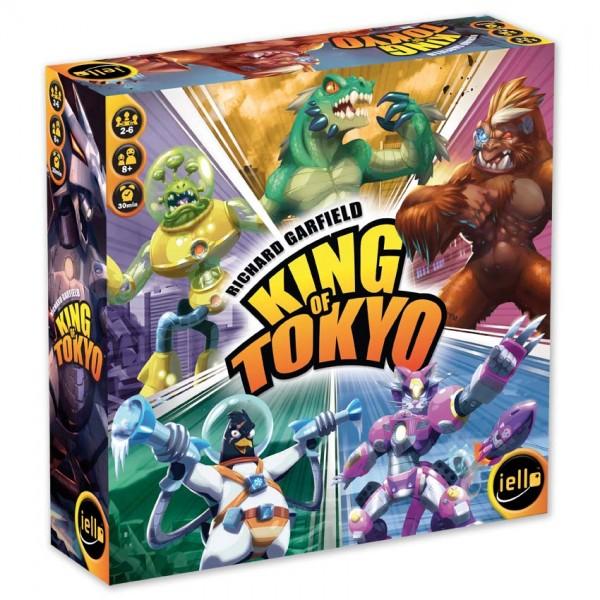 """Familienspiel """"King of Tokyo"""" von iello"""