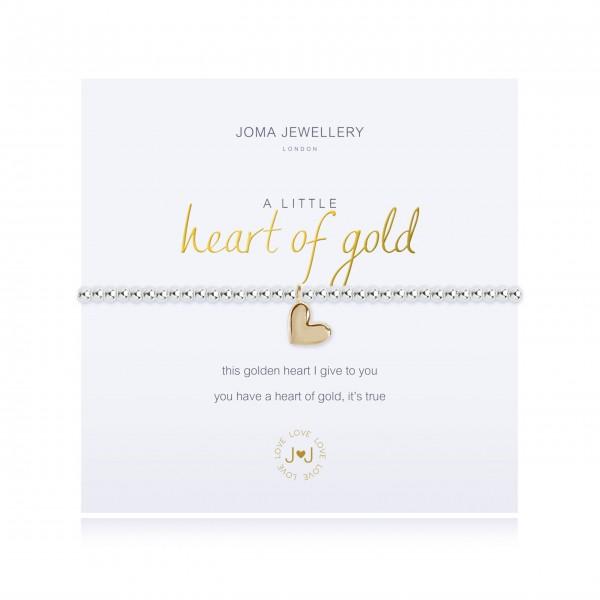 "Armband ""a little - Herz aus Gold"" von Joma Jewellery"