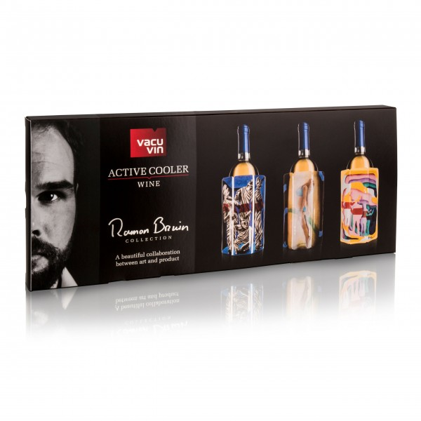 Vacu Vin Flaschenkühler im Ramon Bruin Geschenkset
