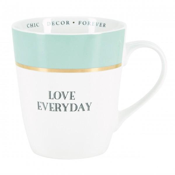 """Miss Etoile Tasse """"Love everyday"""""""