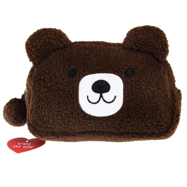 "Make-Up-Tasche ""Bruno the Bear"" von Rex LONDON"