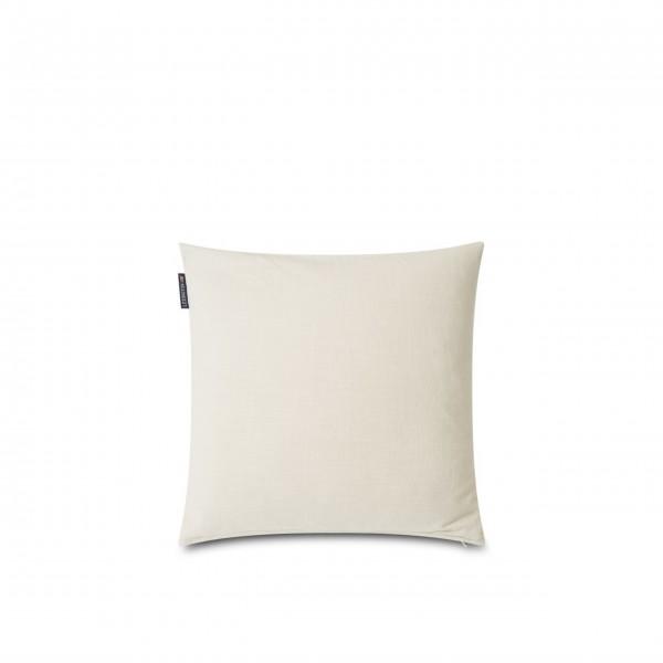 Lexington Kissenhülle aus Cord-Samt - 50x50 cm (Naturweiß)