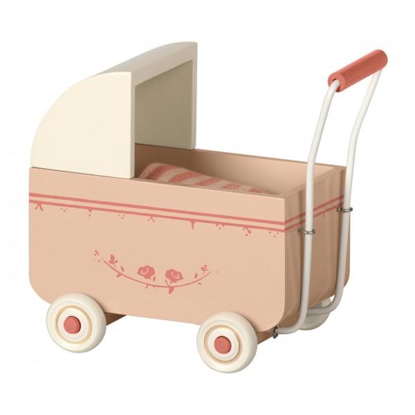 Maileg Puppenwagen (Powder/Rosa)
