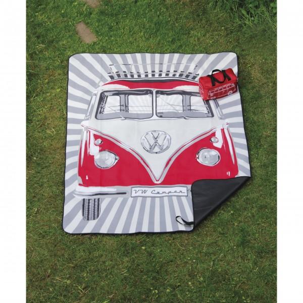 VW-Picknickdecke in rot