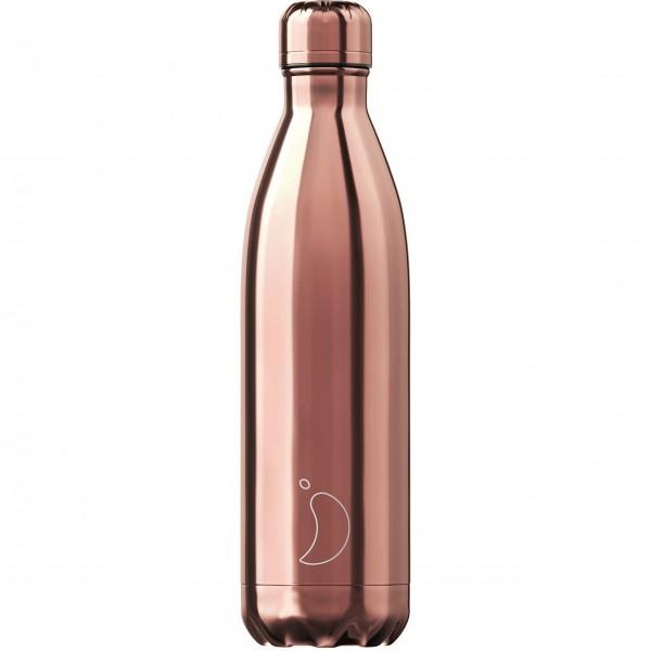 "CHILLY'S Bottle Isolierflasche ""Rose Gold"" - 750 ml (Weiß)"