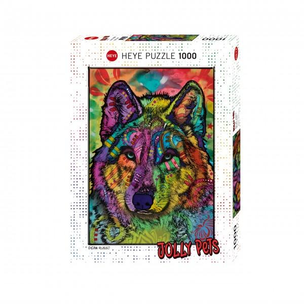 """Puzzle """"Wolf's Soul"""" von HEYE"""