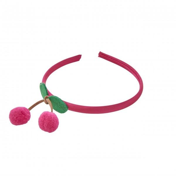 "Rice Haarband ""Cherry"" (Rot)"