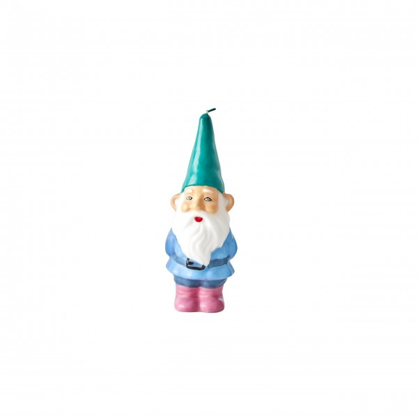 """Rice Kerze """"Weihnachtsmann"""" (Grün)"""