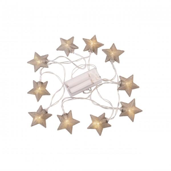 """Lichterkette """"Stern"""" - (Silber) von Gift Company"""