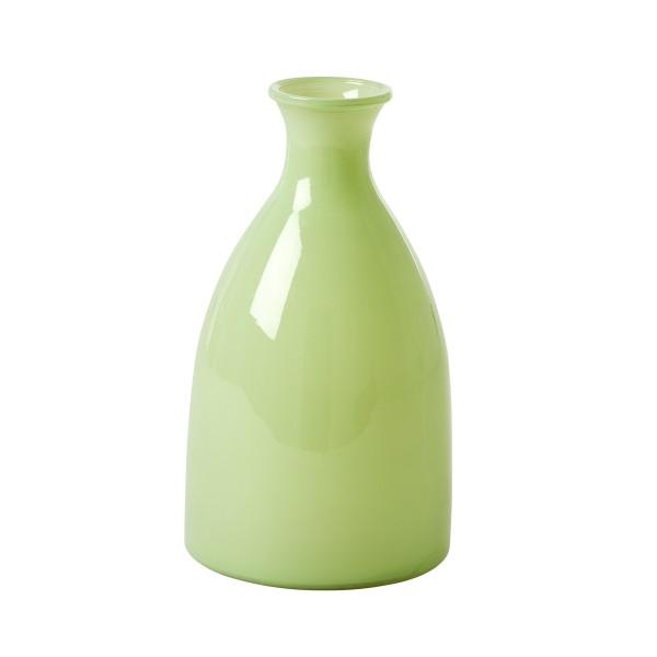 Hübsche Glasvase von Rice in frischem Grün
