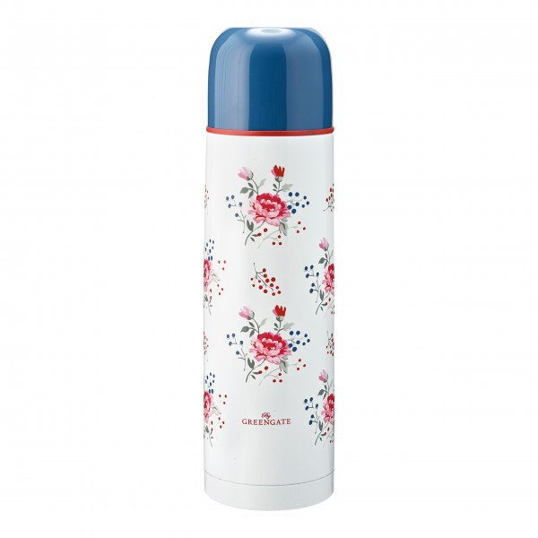 """GreenGate Thermosflasche """"Fiona"""" (Pale Blue) - 800 ml"""
