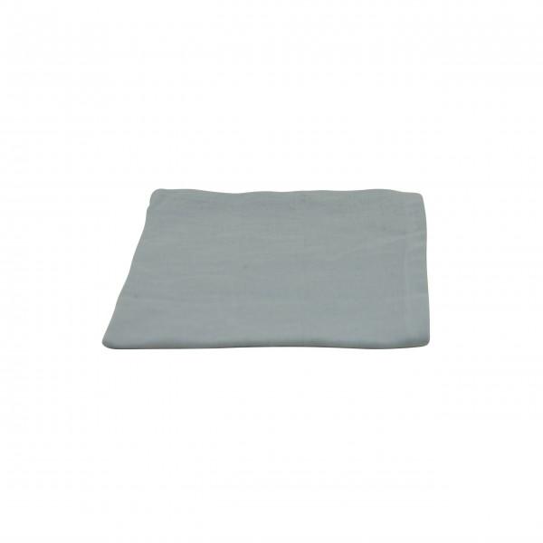 Serviette aus Leinen - 40x40 cm (Grau) von Solwang Design