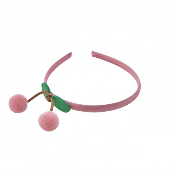 "Rice Haarband ""Cherry"" (Pink)"
