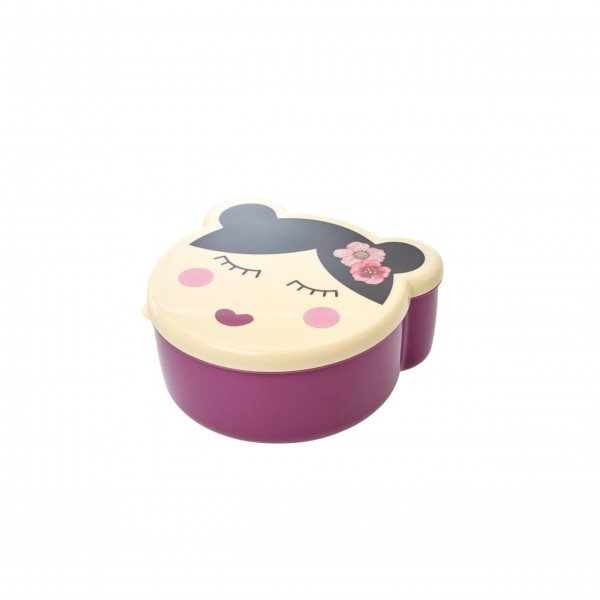 "Rice Lunchbox-Set ""Faces"" - 4 Stck.-3"