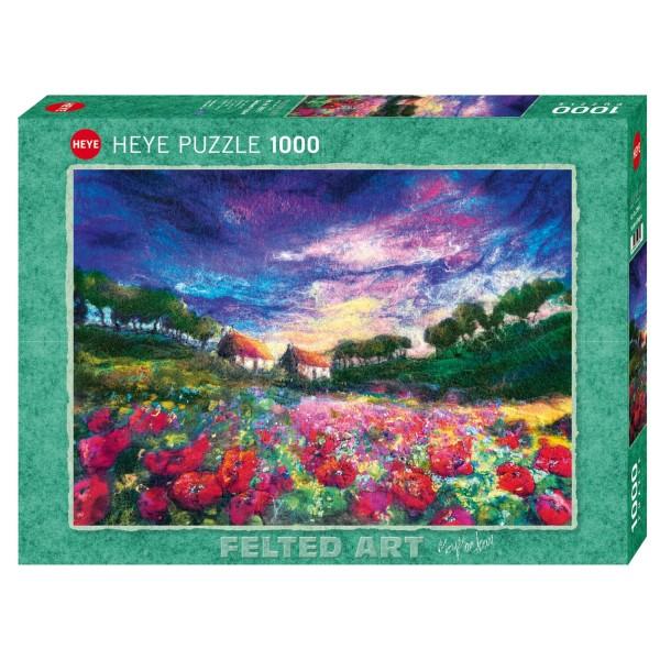 """Puzzle """"Sundown Poppies"""" von HEYE"""