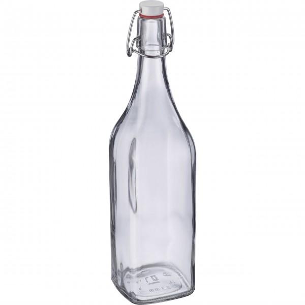 Westmark Bügelverschlussflasche mit Anhänger - 1 l