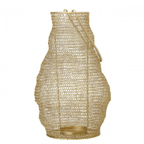 """Bloomingville Laterne """"Brass"""" (Gold)"""