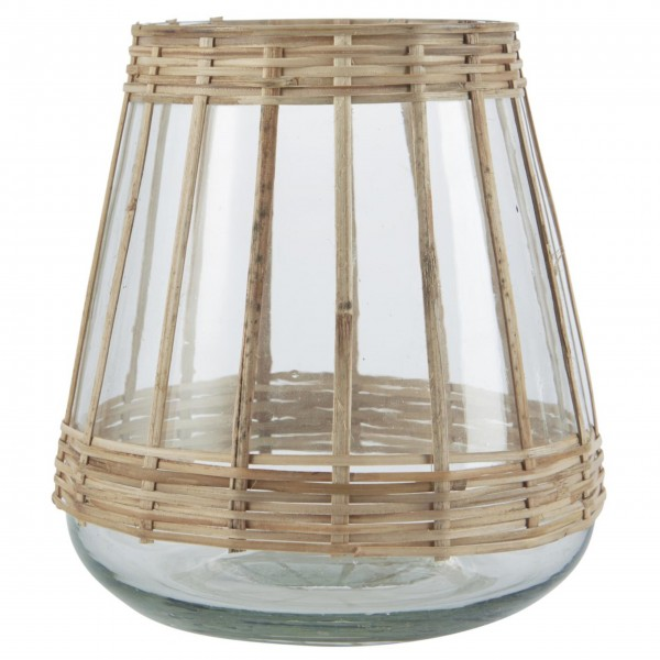 "Ib Laursen Großer Teelichthalter ""Bambus"""
