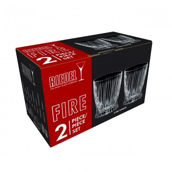 "Riedel Tumbler ""Fire Whisky"" 2er-Set"