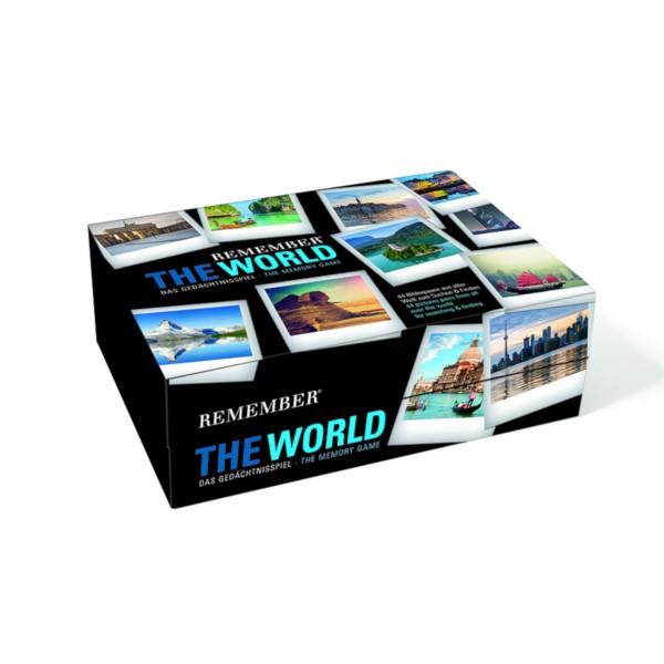 """Gedächtnisspiel 44 """"The World"""" in der Magnetbox von Remember"""