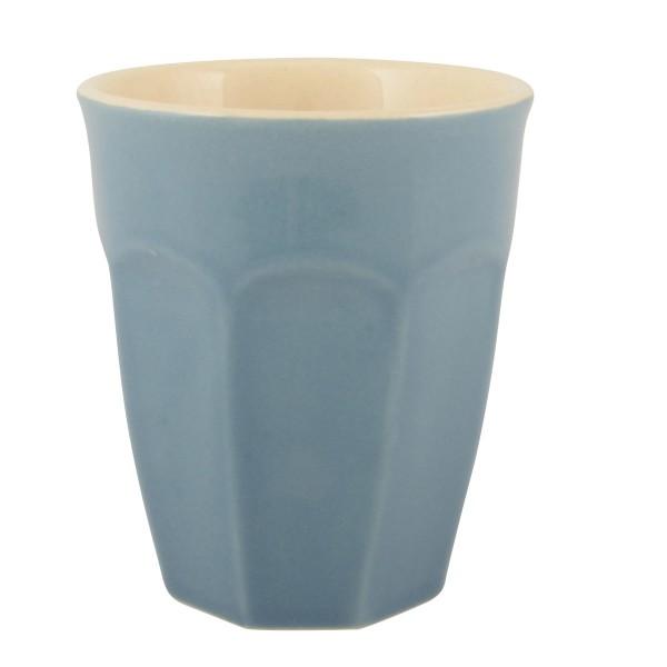 Hereinspaziert mein Liebling! Der Latte Becher von Ib Laursen in Blau