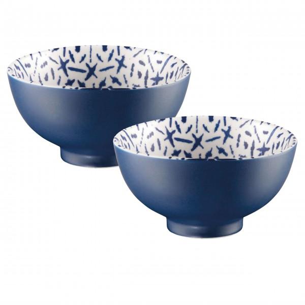Blauer Ozean: Porzellanschüsseln von ASA