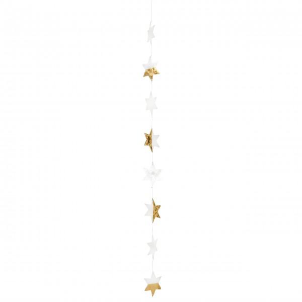"Capizkette ""Große Sterne"" (Gold) von räder Design"