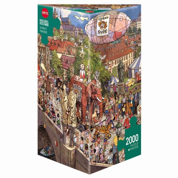 """Puzzle """"Street Parade"""" von HEYE"""