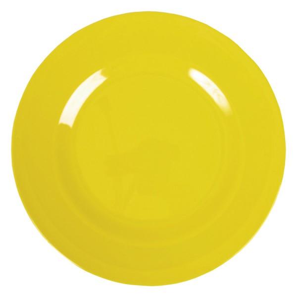 Tolles Picknickgeschirr: Rice Melamin Teller in sonnengelb
