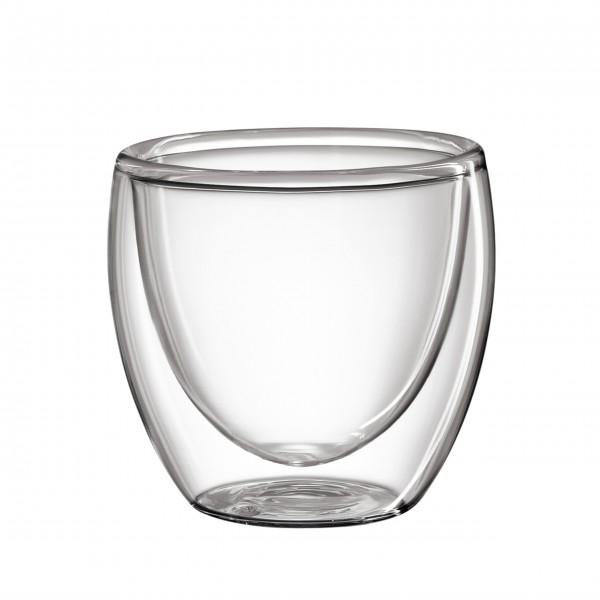 Das hochwertige Espressoglas aus Borosilikatglas von cilio