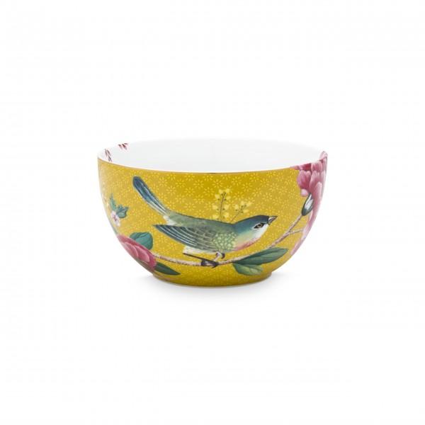 """Pip Studio Schale """"Blushing Birds"""" - Mittel (Gelb)"""