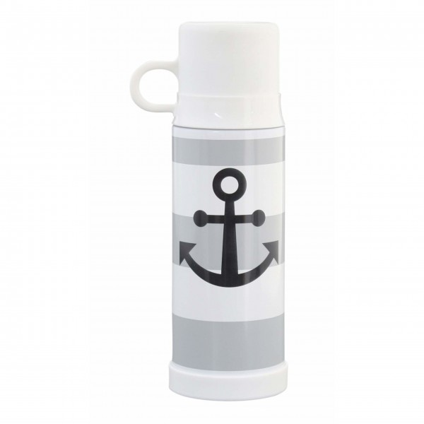 "Krasilnikoff Thermosflasche ""Anchor"" (Grau)"