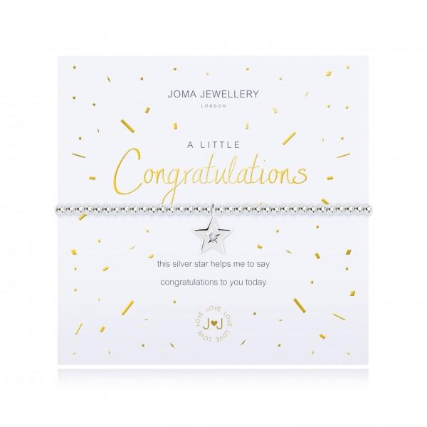 "Armband ""a little - Congratulation"" von Joma Jewellery"