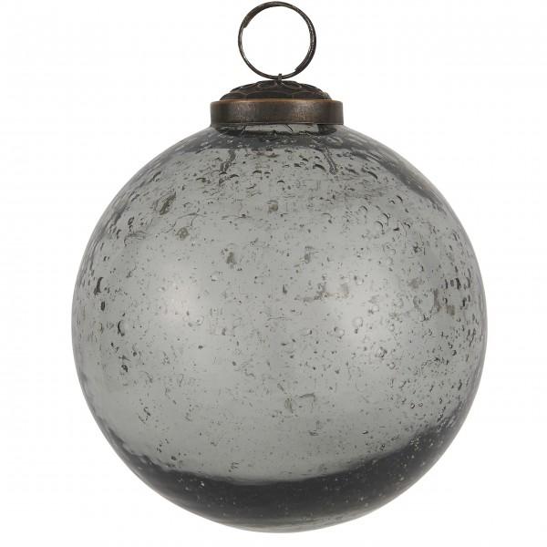 """Ib Laursen Weihnachtskugel """"Stillenat®"""" - Ø: 9,5 cm """"Smoke"""""""