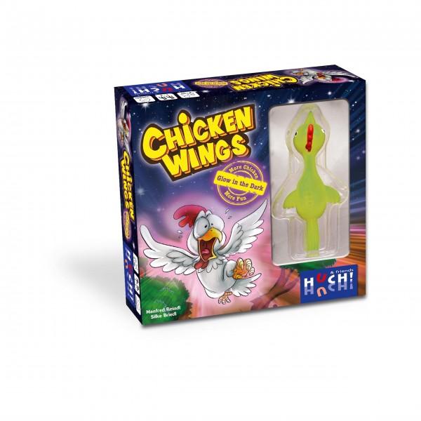 Kinderspiel Chicken Wings - Glow in the dark von HUCH!