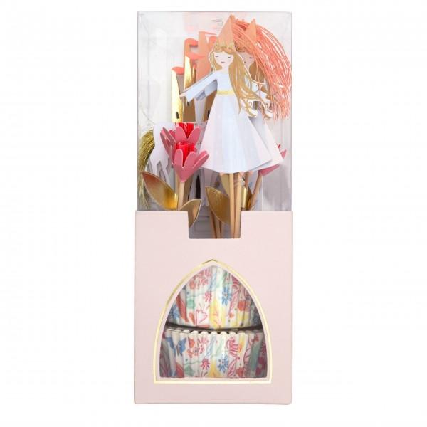 """Cupcake-Papierförmchen """"Prinzessin"""" von Meri Meri"""