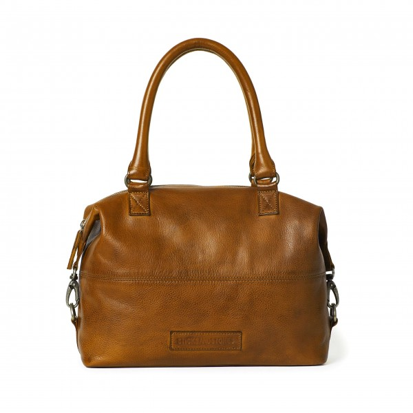 "Sticks and Stones Tasche ""Charleston"" (Hellbraun)"