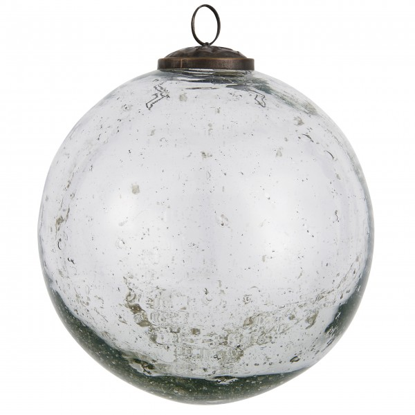 """Ib Laursen Weihnachtskugel """"Stillenat®"""" - Ø: 13,4 cm """"Klar"""""""
