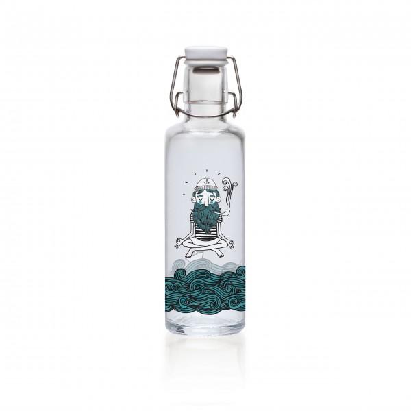 Be water: Trinkflasche von Soulbottles