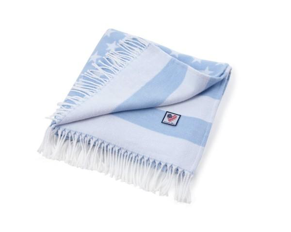 """Lexington Baby Decke """"Flagge"""" (blau)"""