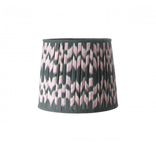 Rice Lampenschirm mit Dip Dye Design (Pink/Schwarz)