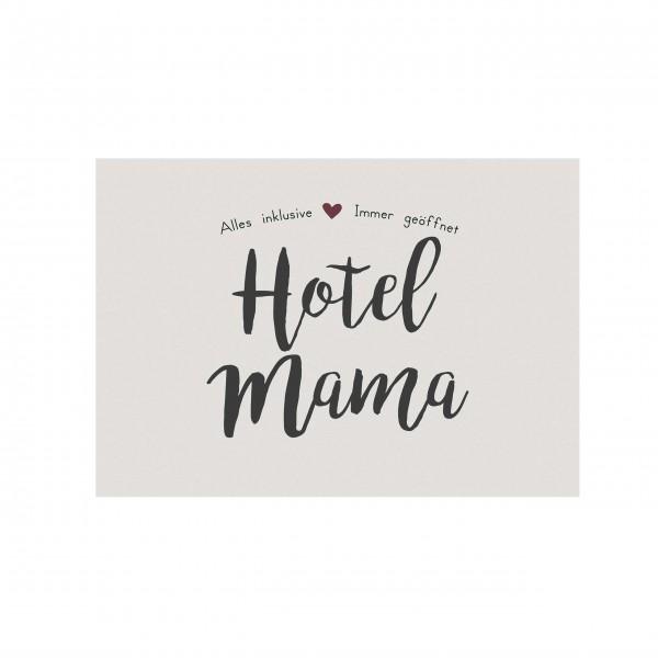"""Ib Laursen Metallschild """"Hotel Mama"""""""