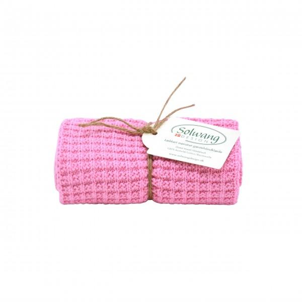 Baumwoll-Handtuch von Solwang: in Rosa