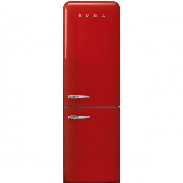 """smeg Kühl-/Gefrierkombination """"50's Retro Style"""" FAB32 mit Türanschlag rechts (Rot)"""