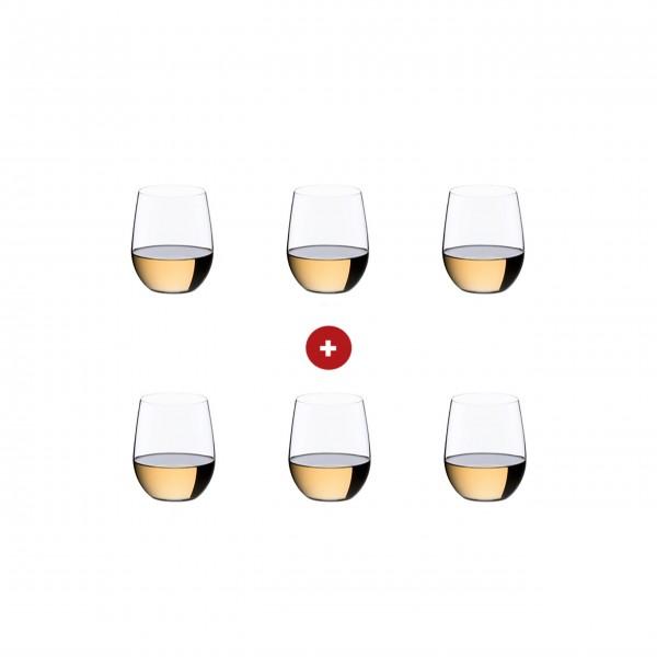 """Riedel Viognier/Chardonnay """"O"""" - 6er-Set"""