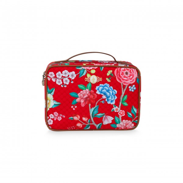 "Pip Studio Beautycase ""Good Morning"" (Rot)-26-51274093-1"