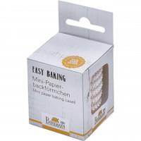 """Birkmann Mini-Papierförmchen """"Easy Baking"""" (weiß)"""